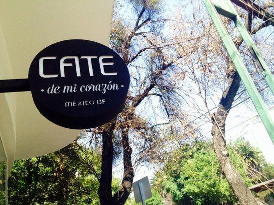 Cate de mi Corazon : Logo.