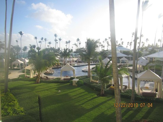 Iberostar Grand Hotel Bavaro : Picture taken from balcony