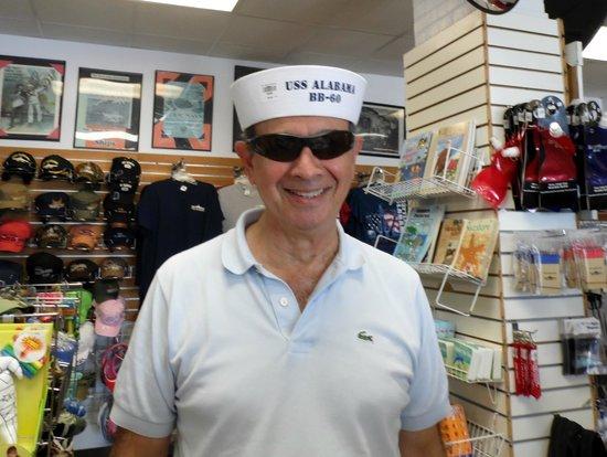 Battleship USS ALABAMA: Shopping