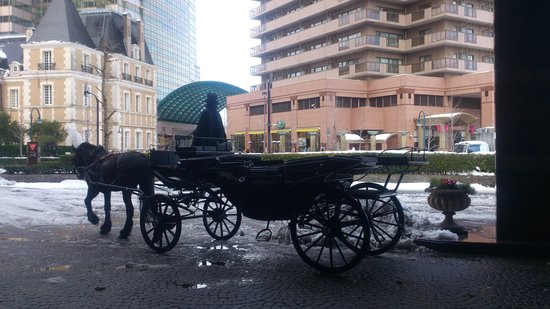The Westin Tokyo: carriage