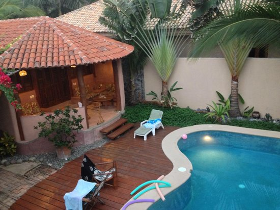 Merece Tus Suenos : The Bungalow from the second story deck