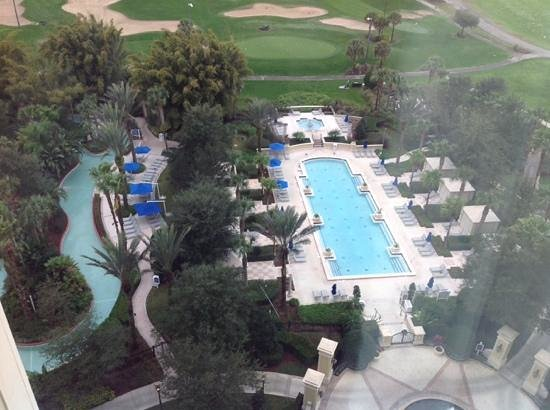 Omni Orlando Resort at Championsgate : view from our room