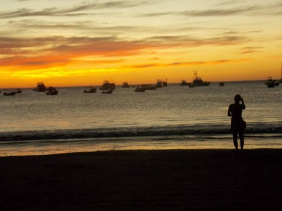 Casa Romano: Atardecer en la playa San Juan del Sur