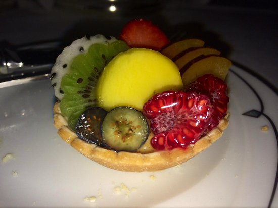 The Palm Court: Mini tart