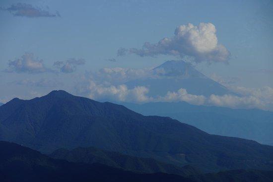 Sun Meadows Kiyosato Highland Park : 富士山