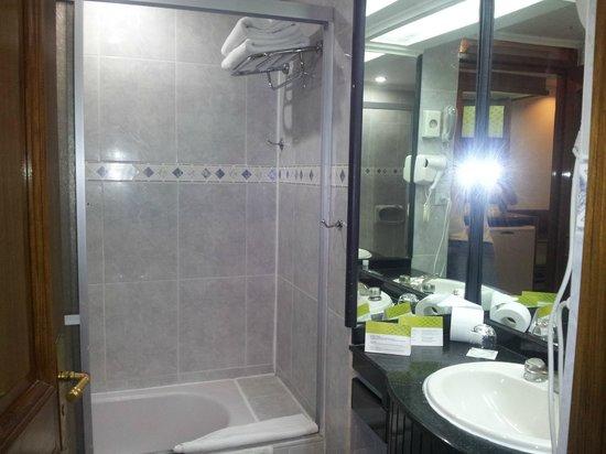 Exe Hotel Cataratas: Baño amplio
