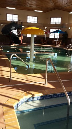 AmericInn Hotel & Suites Fargo South — 45th Street: water slide, and hot tub