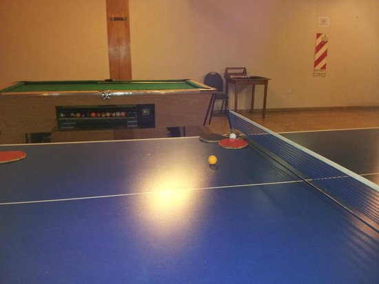 Exe Hotel Cataratas: Sala de juegos