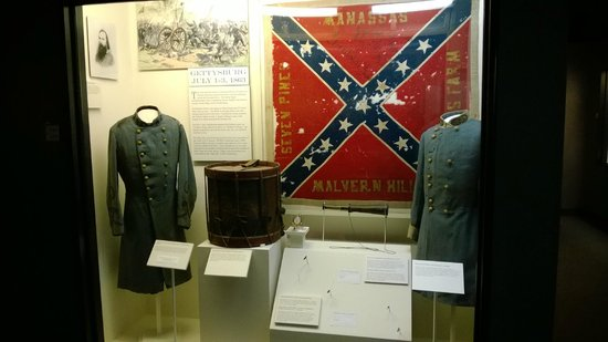 The White House and Museum of the Confederacy: Actual items