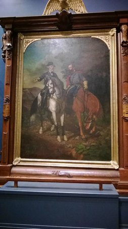 The White House and Museum of the Confederacy: Famous painting
