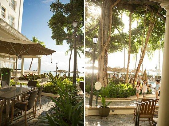 Moana Surfrider, A Westin Resort & Spa : The Banyan Courtyard