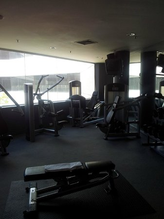 Hyatt Regency Perth: Gym into the sunlight Jan 2014
