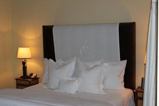 The James Madison Inn : Bedding