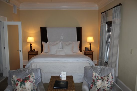 The James Madison Inn : Bed
