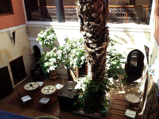 Riad Zanzibar: Courtyard