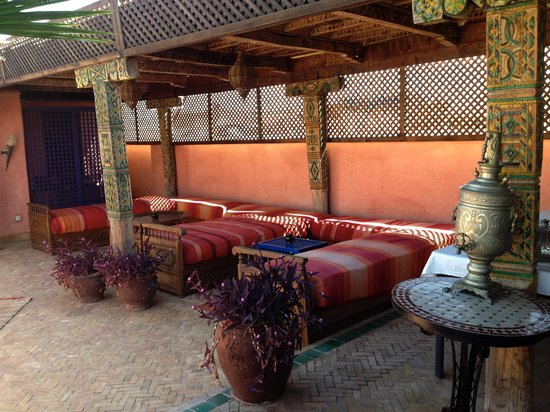 Riad Zanzibar: Roof terrace