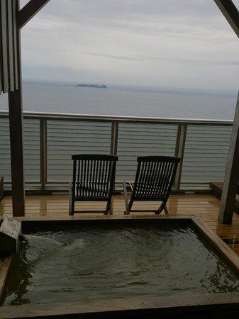 Chikurinan Mizuno : Ocean view spring in room