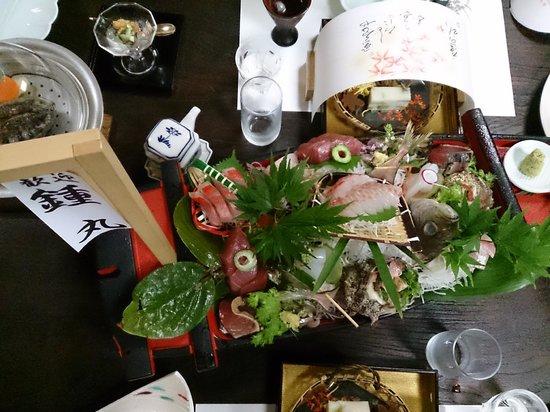 Chikurinan Mizuno : Fresh Sashimi from ajiro port