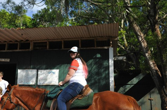Happy Trails Hawaii: Me riding a horse