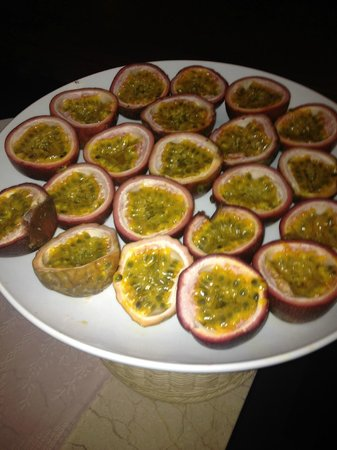 Vinh Hung Emerald Resort : Passion fruit..awesome