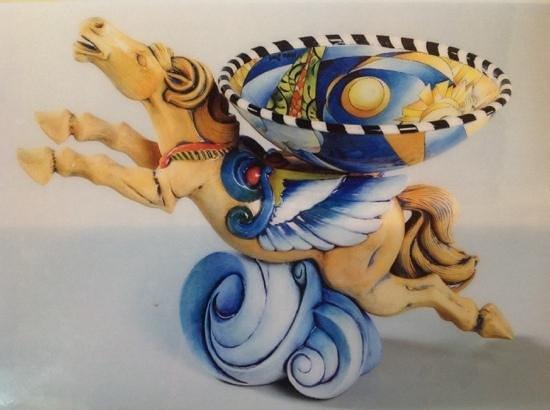 MiNiAtUrE art Gallery: caballo alado