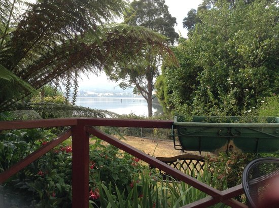 Donalea Bed & Breakfast: View from the Balcony