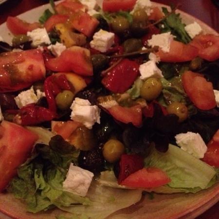 Spanish Gardens : sunshine salad w/ feta