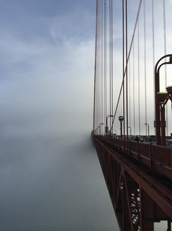 Golden Gate Bridge: Back to the south