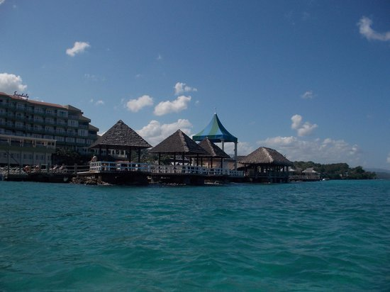 Sandals Ochi Beach Resort: Stand Up Paddle view