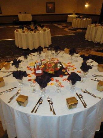 "Wyndham Garden Greensboro: ""Fall Bliss"" Table Setting"