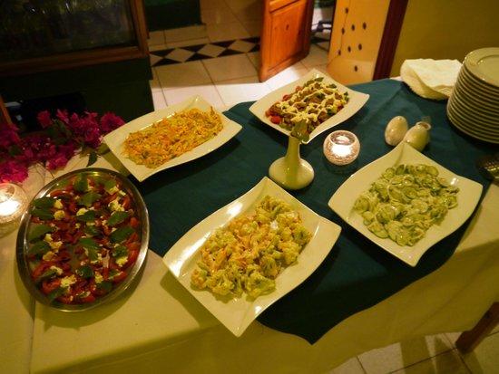 Gerda's Garden: Wael zaubert köstliche Buffets