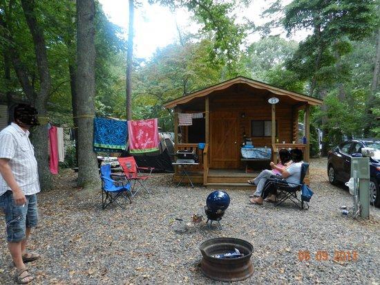 Ponderosa Campground: Bien installler pour une semaine