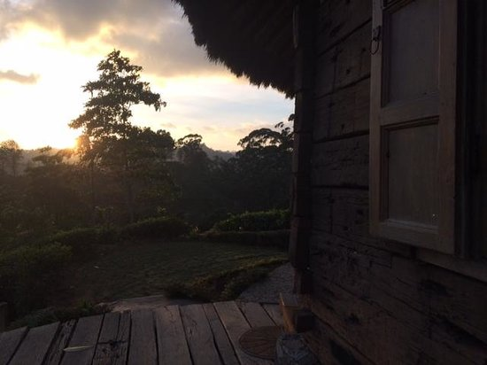 98 Acres Resort: Early morning Sun rise