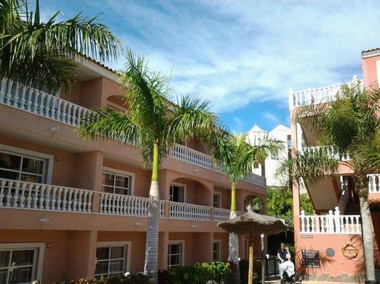 Aparthotel El Duque: Balkonger