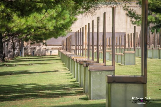 Oklahoma City National Memorial & Museum: Side shot.