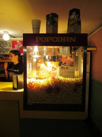 Ruskin Family Drive-In: Small popcorn is just $2.00.