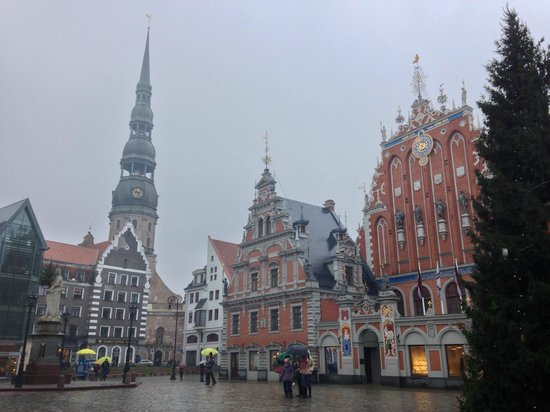 Riga Town Hall Square : Ратушная площадь, Старая Рига