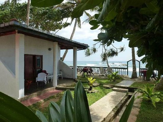 Shanthi Beach Resort: Bungalow Nr. 8