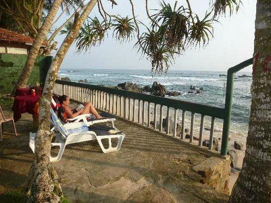 Shanthi Beach Resort : Toller Blick