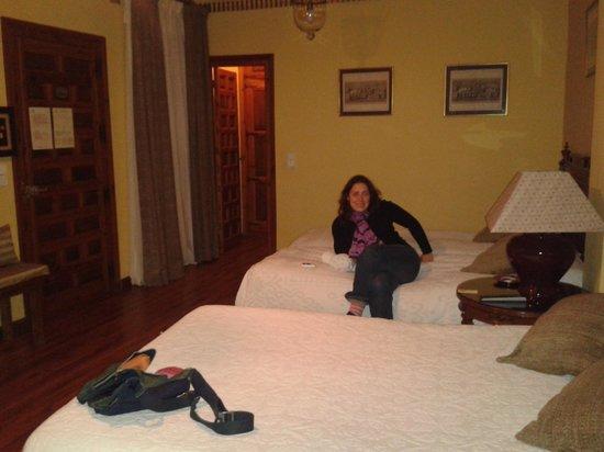 Almunia de San Miguel: habitación