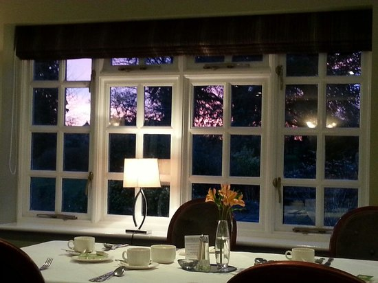 Quorn Grange Hotel: Breakfast at sunrise,  lovely!