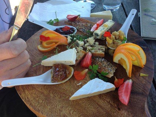 Mudbrick Vineyard & Restaurant: Cheese Platter