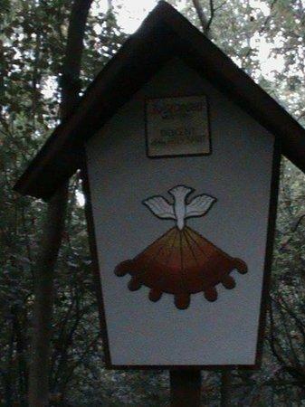 Saint Emma Monastery: Part of the walk course