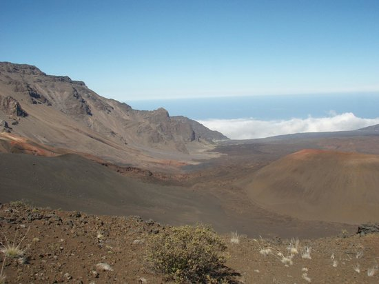Haleakala Crater: A small part of the crater