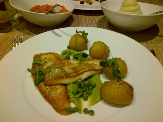 George's Dining Room And Bar : Fillet of Plaice