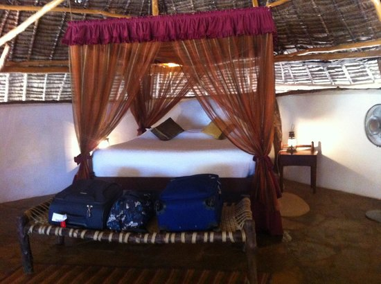 The Funzi Keys: the bed