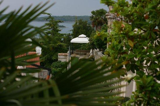 Hotel Vista : Von der Frühstück - Terrasse