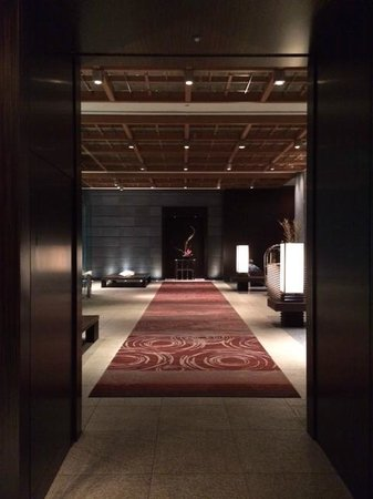 Mandarin Oriental, Tokyo: Lobby on ground floor