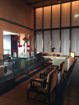Mandarin Oriental, Tokyo: Lobby on 38th floor