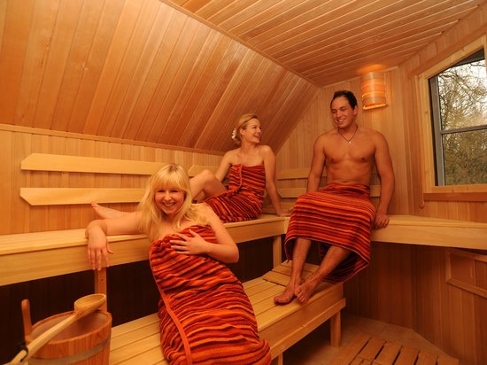 Gut Düneburg: Unserer Sauna